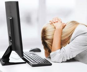 Headache-head down